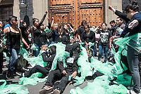 Movimiento de Aspirantes Excluidos de la Educación Superior #MAES marcha a la SEP
