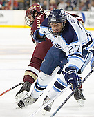 (Brett Motherwell) Travis Ramsey - The Boston College Eagles defeated the University of Maine Black Bears 4-1 in the Hockey East Semi-Final at the TD Banknorth Garden on Friday, March 17, 2006.