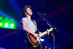 © Joel Goodman - 07973 332324 . 25/04/2015 . Manchester , UK . BRAD SIMPSON . The Vamps play live at the Manchester Arena . Photo credit : Joel Goodman