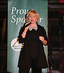 "Missy Keene sings at The 29th Annual Jane Elissa Extravaganza which benefits The Jane Elissa Charitable Fund for Leukemia & Lymphoma Cancer, Broadway Cares and other charities on November 14, 2016 at the New York Marriott Hotel, New York City presented by Bridgehampton National Bank and Walgreens. General Hospital's Jacklyn Zeman is the Honorary Chairman. The event is a Cabaret with Broadway singers - James Barbor ""Phanom"" in The Phantom of the Opera"", Sean McDermott (Guiding Light) (Photo by Sue Coflin/Max Photos)"
