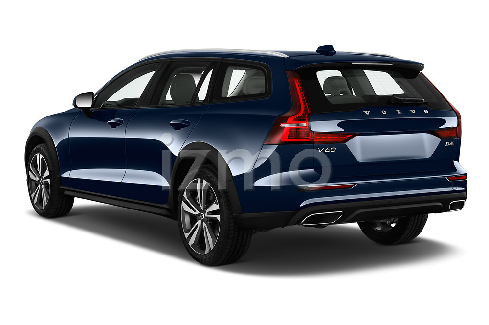 Car pictures of rear three quarter view of 2019 Volvo V60-Crosscountry - 5 Door Wagon Angular Rear