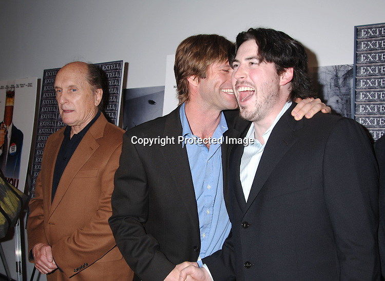 Robert Duvall and Aaron Eckhart and Director Jason Reitman