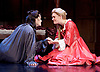 Queen Anne by Helen Edmundson <br /> Royal Shakespeare Company Production <br /> directed by Natalie Abrahami <br /> at the Theatre Royal Haymarket, &nbsp;<br /> London, Great Britain <br /> 6th July 2017 <br /> Press photocall <br /> <br /> &nbsp;<br /> <br /> <br /> Emma Cunniffe as Princess Anne<br /> Romola Garai as Sarah Churchill<br /> <br /> <br /> <br /> &nbsp;<br /> <br /> <br /> <br /> Photograph by Elliott Franks <br /> Image licensed to Elliott Franks Photography Services