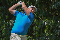 Adam Bland (AUS) watches his tee shot on 2 during round 3 of the World Golf Championships, Mexico, Club De Golf Chapultepec, Mexico City, Mexico. 3/3/2018.<br /> Picture: Golffile | Ken Murray<br /> <br /> <br /> All photo usage must carry mandatory copyright credit (&copy; Golffile | Ken Murray)