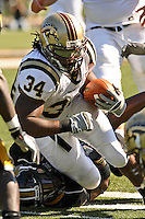 Western Michigan running back Mark Bonds rushed for a team high 82 yards against MU at Memorial Stadium in Columbia, Missouri on September 15, 2007. The Tigers won 52-24.