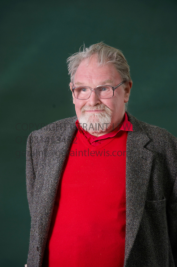 Alasdair Gray,Scottish Writer and Author  at The Edinburgh International Book Festival 2010  Credit Geraint Lewis