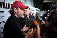 "Andrew Lincoln and director of the series, Greg Nicotero attends to an event with fans of ""The Walking Dead"" at Cines Capitol in Madrid. March 09, 2017. (ALTERPHOTOS/Borja B.Hojas) /NortePhoto.com"