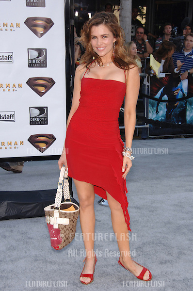 "Actress ALICIA ARDEN at the world premiere of ""Superman Returns"" in Los Angeles..June 21, 2006  Los Angeles, CA.© 2006 Paul Smith / Featureflash"
