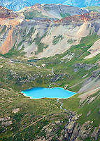 Ice Lake between Pilot Knob and Ulysses S. Grant Peak, San Juan County, Colorado.  July 2013. 80506