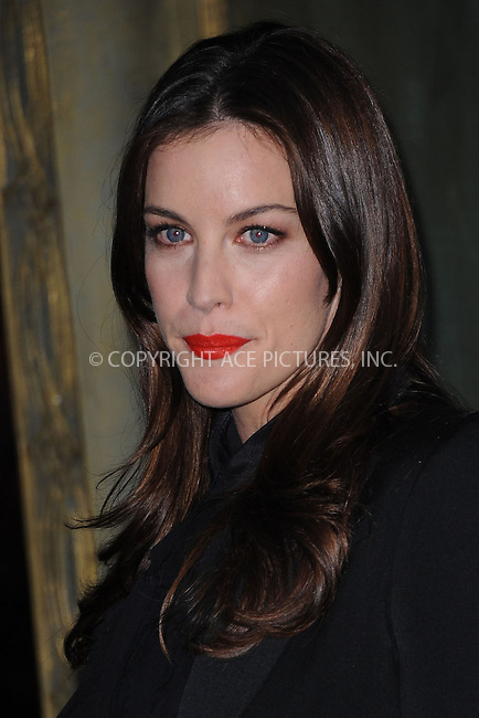 WWW.ACEPIXS.COM . . . . . .December 6, 2012...New York City....Liv Tyler arrives at the US premiere of 'The Hobbit: An Unexpected Journey' at the Ziegfeld Theatre on December 6, 2012 in New York City ....Please byline: KRISTIN CALLAHAN - ACEPIXS.COM.. . . . . . ..Ace Pictures, Inc: ..tel: (212) 243 8787 or (646) 769 0430..e-mail: info@acepixs.com..web: http://www.acepixs.com .