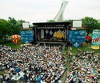 Celebrations de la fete nationale au parc maisonneuve, le 24 juin 1994<br /> <br /> PHOTO : Agence Quebec Presse - stephane Fournier