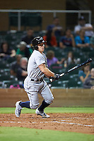 Peoria Javelinas Tyler O'Neill (11), of the Seattle Mariners organization, during a game against the Salt River Rafters on October 11, 2016 at Salt River Fields at Talking Stick in Scottsdale, Arizona.  The game ended in a 7-7 tie after eleven innings.  (Mike Janes/Four Seam Images)