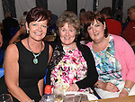 Mary Duffy, Nora Byrne and Patricia O'Hare pictured at the Music Night in Dunleer Market House. Photo:Colin Bell/pressphotos.ie
