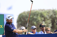 Shane Lowry (IRL) on the 10th tee during the 2nd round of the DP World Tour Championship, Jumeirah Golf Estates, Dubai, United Arab Emirates. 16/11/2018<br /> Picture: Golffile | Fran Caffrey<br /> <br /> <br /> All photo usage must carry mandatory copyright credit (© Golffile | Fran Caffrey)