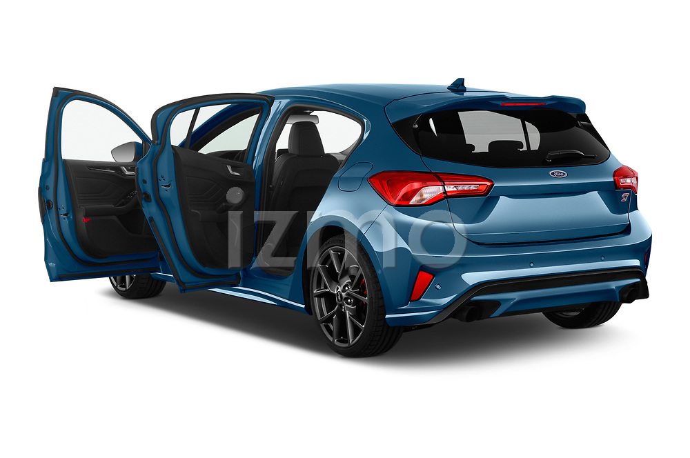 Car images close up view of a 2019 Ford Focus ST Base 5 Door Hatchback doors