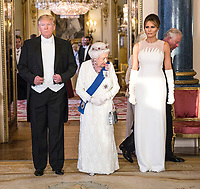 Donald Trump State Banquet at Buckingham Palace -President Trump State Visit to London