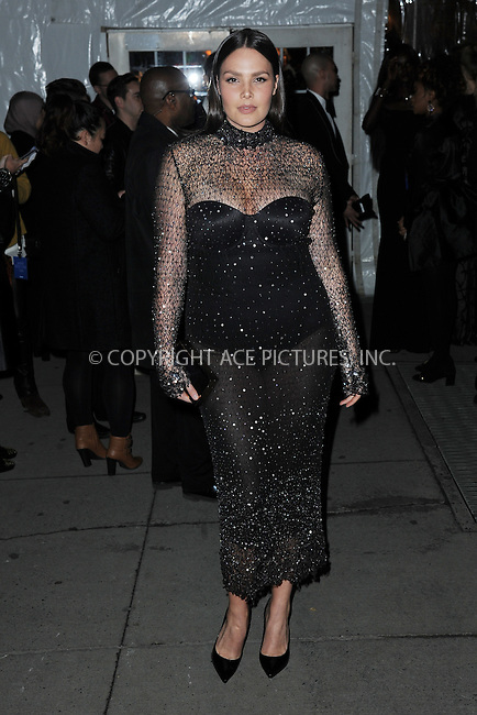 www.acepixs.com<br /> February 8, 2017  New York City<br /> <br /> Candice Huffine attending the amfAR New York Gala 2017 at Cipriani Wall Street on February 8, 2017 in New York City.<br /> <br /> Credit: Kristin Callahan/ACE Pictures<br /> <br /> Tel: 646 769 0430<br /> Email: info@acepixs.com