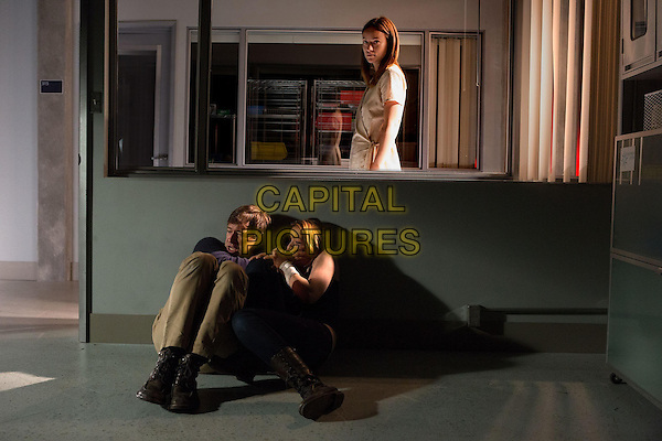 Mark Duplass, Sarah Bolger and Olivia Wilde <br /> in The Lazarus Effect (2015)<br /> *Filmstill - Editorial Use Only*<br /> CAP/NFS<br /> Image supplied by Capital Pictures