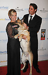 BEVERLY HILLS, CA - OCTOBER 01: Prince Lorenzo Borghese and Rin Tin Tin arrive at The American Humane Association's First Annual Hero Dog Awards at The Beverly Hilton Hotel on October 1, 2011 in Beverly Hills, California.
