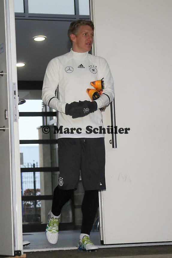 Kapitän Bastian Schweinsteiger - Training der Deutschen Nationalmannschaft, Wurfplatz Berlin