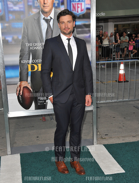 Tom Welling at the Los Angeles premiere of his movie &quot;Draft Day&quot; at the Regency Village Theatre, Westwood.<br /> April 7, 2014  Los Angeles, CA<br /> Picture: Paul Smith / Featureflash