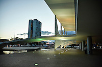 BRASÍLIA, DF, 15.03.2016 – PALÁCIO-PLANALTO – Vista do Palácio do Planalto na tarde desta terça-feira, 15. O ex-presidente Lula foi aguardado durante toda a tarde para acertar sobre se aceita a pasta de Ministro do Governo Dilma Rousseff. (Foto: Ricardo Botelho/Brazil Photo Press)