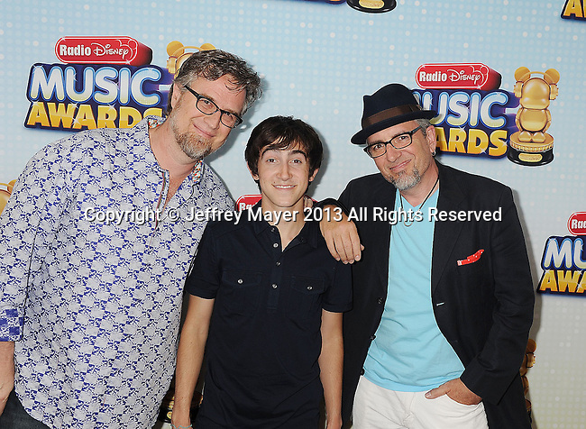 LOS ANGELES, CA- APRIL 27: Actor Vincent Martella arrives at the 2013 Radio Disney Music Awards at Nokia Theatre L.A. Live on April 27, 2013 in Los Angeles, California.