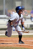 March 19, 2010:  Second Baseman Gered Mochizuki (91) of the New York Mets organization during Spring Training at the Roger Dean Stadium Complex in Jupiter, FL.  Photo By Mike Janes/Four Seam Images