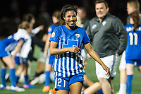Boston, MA - Saturday April 29, 2017: Margaret Purce during a regular season National Women's Soccer League (NWSL) match between the Boston Breakers and Seattle Reign FC at Jordan Field.