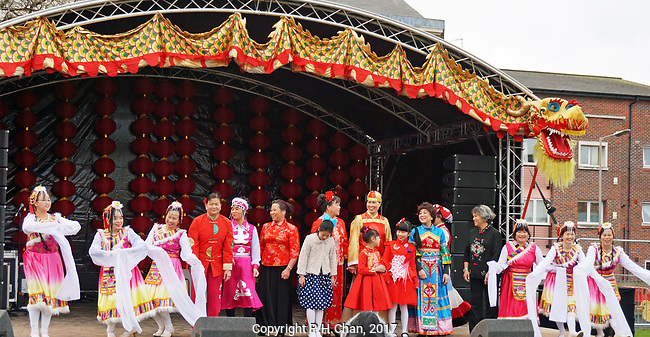 Liverpool Chinatown celebrated Chinese New Year of the Rooster in style on Sunday 29th January with colourful lion,dragon, and unicorn displays.There were also dancers, food stalls and a fair, plus a light and sound show in the evening.