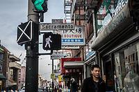 Una via di San Francisco  Chinatown