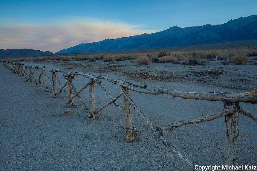 Cemetery Boundary, Manzanar
