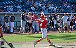 Truckee's Jackson Rohlf swings during the inaugural high school home run derby at Aces Ballpark after the Reno Aces vs. Fresno Grizzlies game played on Sunday afternoon, April 28, 2013 in Reno, Nevada.