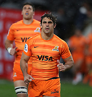 DURBAN, SOUTH AFRICA - JULY 14: Pablo Matera of the Jaguares during the Super Rugby match between Cell C Sharks and Jaguares at Jonsson Kings Park on July 14, 2018 in Durban, South Africa. Photo: Steve Haag / stevehaagsports.com