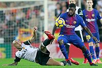 Valencia CF v FC BARCELONA. LA LIGA 2017/2018. ROUND 13.