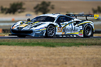 12th January 2020; The Bend Motosport Park, Tailem Bend, South Australia, Australia; Asian Le Mans, 4 Hours of the Bend, Race Day; The number 27 HubAuto Corsa GT driven by Davide Rigon, Marcos Gomes, Liam Talbot during the race - Editorial Use