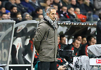Trainer Adi Hütter (Eintracht Frankfurt) - 22.12.2018: Eintracht Frankfurt vs. FC Bayern München, Commerzbank Arena, DISCLAIMER: DFL regulations prohibit any use of photographs as image sequences and/or quasi-video.
