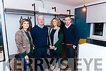Launch of Abode Co-living in the Fossa last Monday.<br /> l-r Justina Gruzdyte, Conor Hennigan, Nathalie Vos and Derek Twiss.