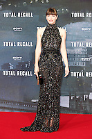 Actress Jessica Biel wore an Elie Saab dress, a Fendi bag, Lorraine Schwartz jewels, and Ferragamo shoes while attending the germany premiere of the movie &quot;TOTAL RECALL&quot; at CineStar Sony Center in Berlin, Germany, 13.08.2012...Credit: Tomasz Poslada/face to face /MediaPunch Inc. ***FOR USA ONLY*** ***Online Only for USA Weekly Print Magazines*** /NortePhoto.com*<br />