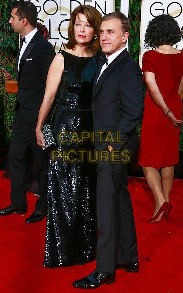 BEVERLY HILLS, CA - January 11: Christoph Waltz at Golden Globes 2015 held at Beverly Hilton in Beverly Hills, California on January 11, 2015.  <br /> CAP/MPI/mpi500<br /> &copy;mpi500/MPI/Capital Pictures