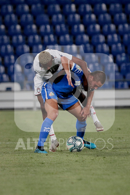 Getafe CF's {persons} during Preseason match between Getafe CF and Crotone FC at Colisseum Alfonso Perez in Getafe, Spain. August 02, 2019. (ALTERPHOTOS/A. Perez Meca)