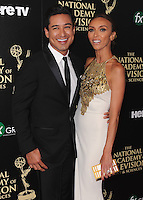 BEVERLY HILLS, CA - JUNE 22:  Mario Lopez and Giuliana Rancic at the 41st Annual Daytime Emmy Awards at the Beverly Hilton Hotel on June 22, 2014 in Beverly Hills, California. SKPG/MPI/Starlitepics