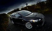 for sco motoring - Mitsubishi Lancer Evolution X - picture by Donald MacLeod 17.11.08