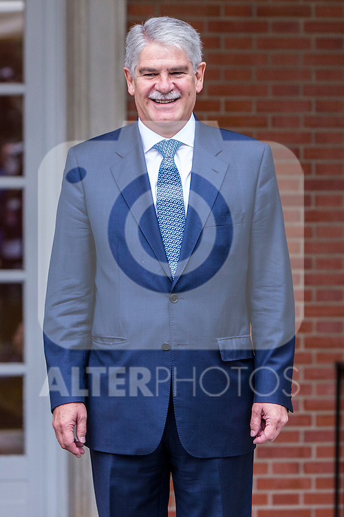 Spanish Minister of Foreign Affairs and Cooperation Alfonso Dastis Quecedo during the prensentation of Rajoy's New Government at Moncloa Palace in  Madrid, Spain. November 04, 2016. (ALTERPHOTOS/Rodrigo Jimenez)