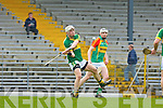 Shane Nolan Kerry shoots against Carlow during their Allianz Hurling league clash in Fitzgerald Stadium on Sunday