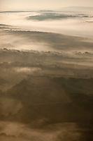 Europe/Europe/France/Midi-Pyrénées/46/Lot: Brumes matinale sur le Causse de Gramat , Vue aérienne