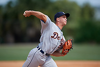 Detroit Tigers pitcher Daniele Di Monte (25) during an Instructional League instrasquad game on September 20, 2019 at Tigertown in Lakeland, Florida.  (Mike Janes/Four Seam Images)