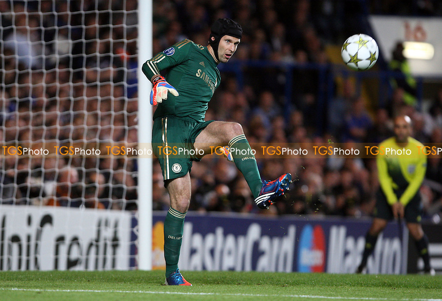 Petr Cech of Chelsea - Chelsea vs Juventus, Champions League at Stamford Bridge, Chelsea - 19/09/12 - MANDATORY CREDIT: Rob Newell/TGSPHOTO - Self billing applies where appropriate - 0845 094 6026 - contact@tgsphoto.co.uk - NO UNPAID USE.