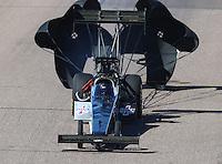 Feb 25, 2017; Chandler, AZ, USA; NHRA top fuel driver Steve Faria during qualifying for the Arizona Nationals at Wild Horse Pass Motorsports Park. Mandatory Credit: Mark J. Rebilas-USA TODAY Sports