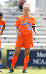 Florida's Shelley Lyle on Sunday September 17th, 2006 at Koskinen Stadium on the campus of the Duke University in Durham, North Carolina. The University of North Carolina Tarheels defeated the University of Florida Gators 1-0 in an NCAA Division I Women's Soccer game.